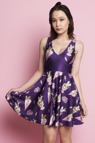 Amethyst Fairy Happy Hour Dress