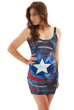 Shield of Justice Bodycon