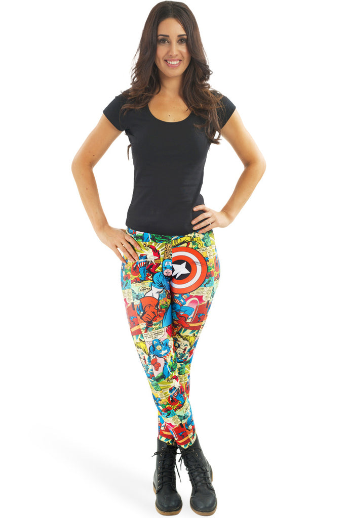 Quintessentially Captain America Leggings