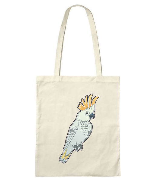 Cockatoo Tote Bag -LIMITED