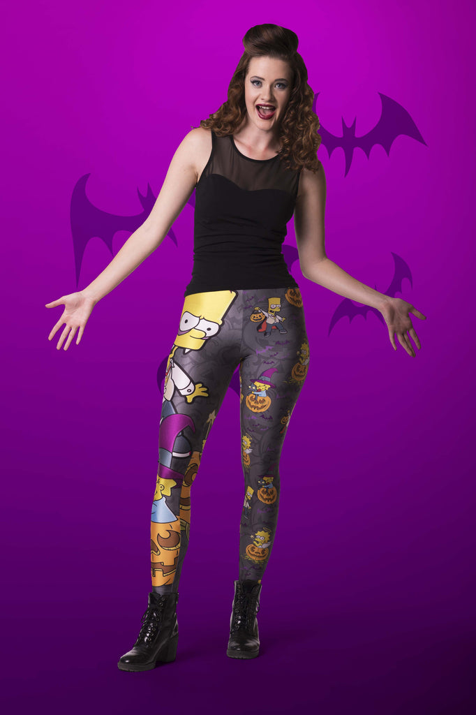 Nightmare On Evergreen Terrace Leggings - LIMITED