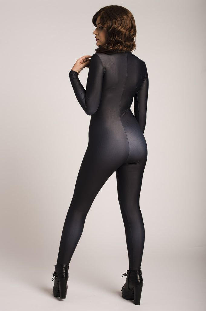 Just Black Catsuit - MADE TO ORDER