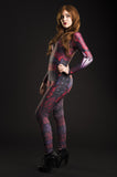 Dragon Queen Catsuit Red - MADE TO ORDER