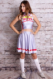 Diana Cosplay Cheerleader Uniform