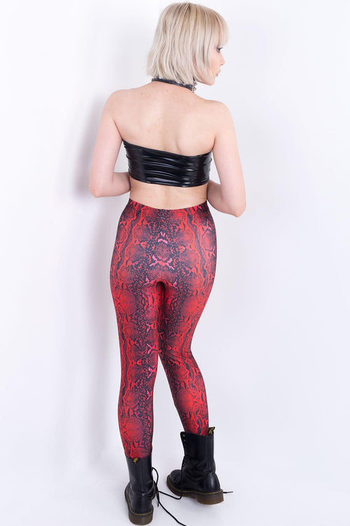 Dragon Serpent Skin Leggings