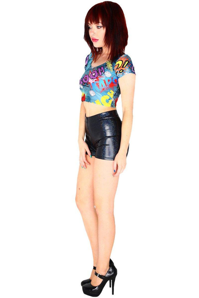 Effects Crop Top - LIMITED