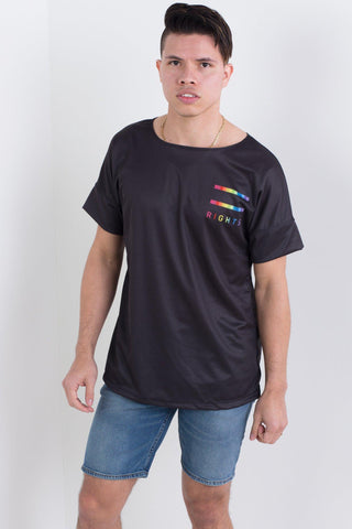 Love is Love Rainbow Triple Threat Tee