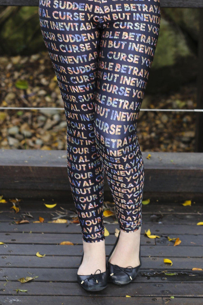 Curse Your Sudden But Inevitable Betrayal Leggings