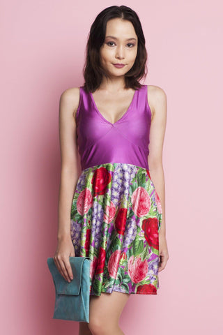 Field of Tulips Happy Hour Dress