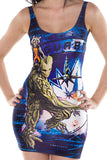 Rocket and Groot Bodycon