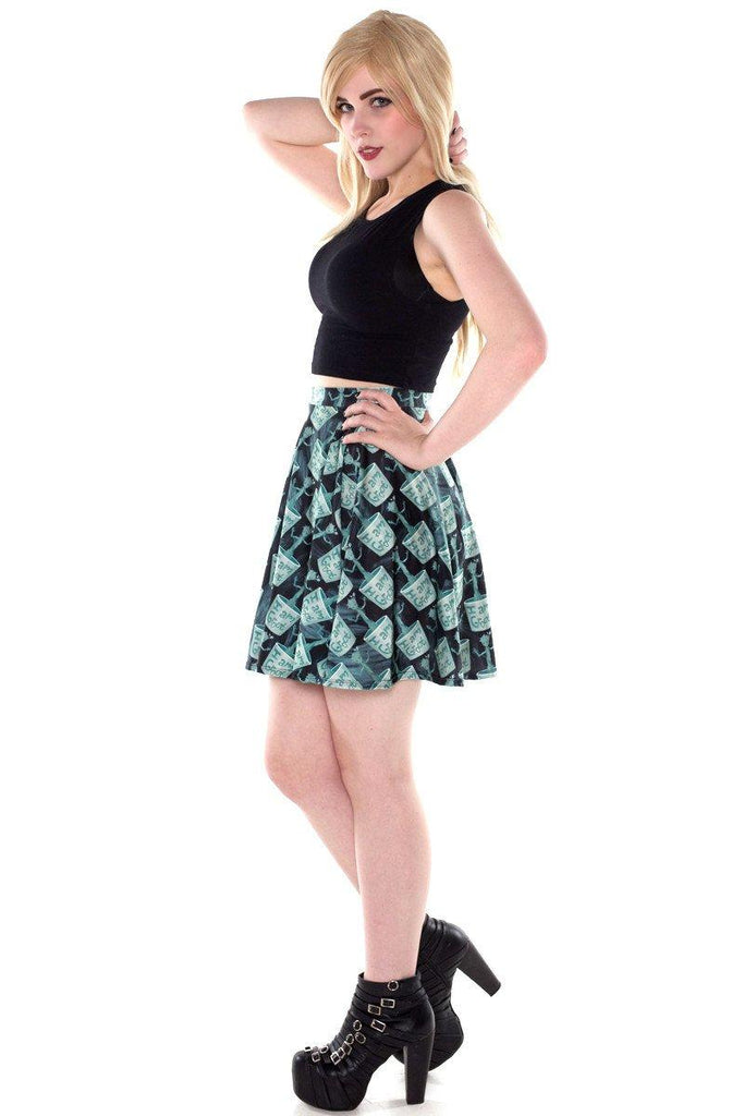 Dancing Groot Skater Skirt