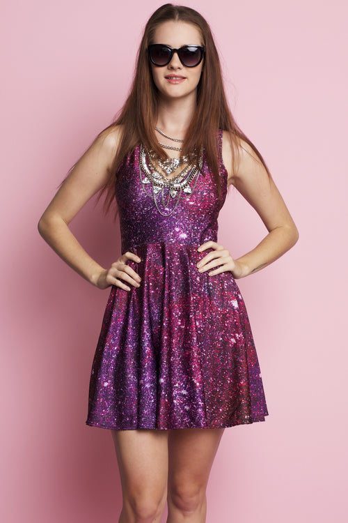 Glitter Happy Hour Dress