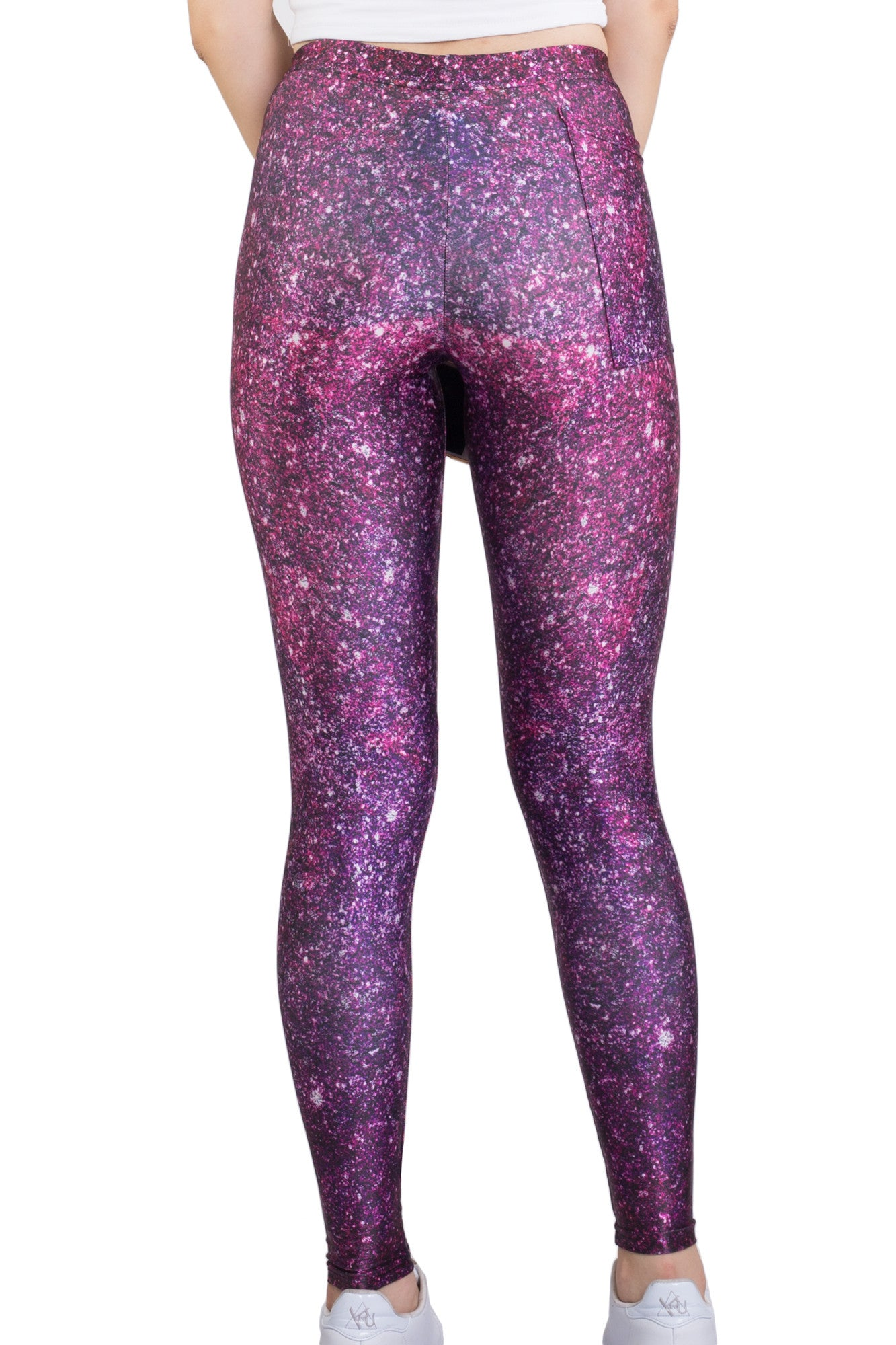 Glitter Pocket Leggings