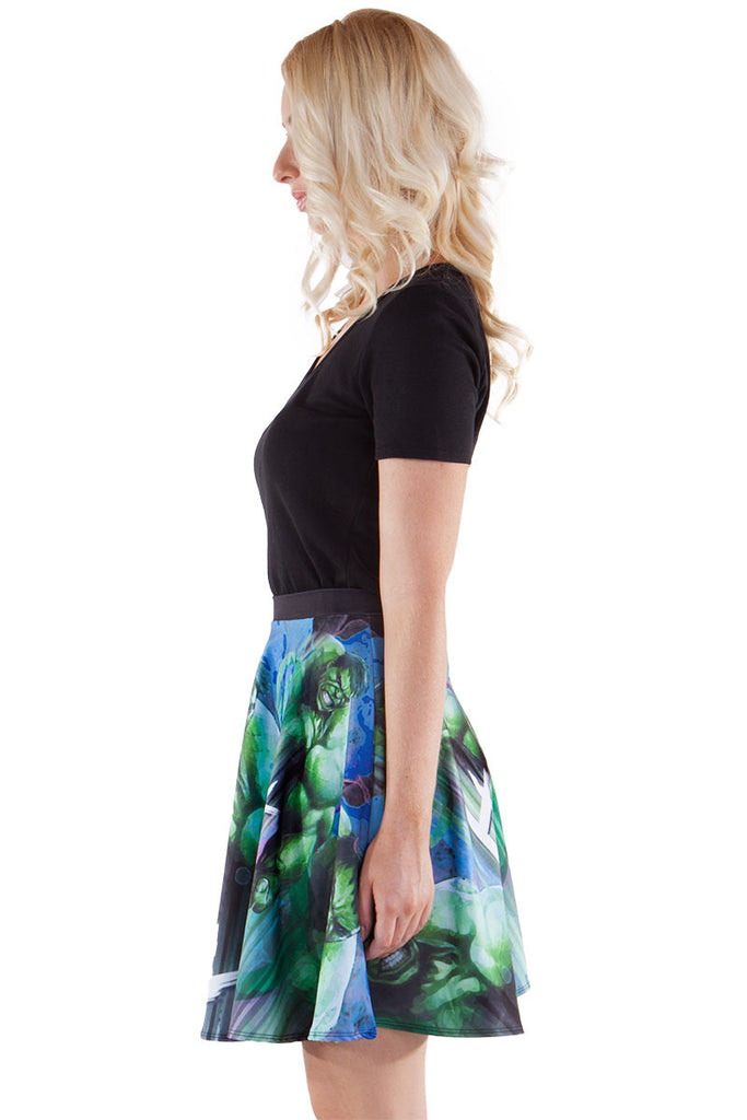Misunderstood Hero Skater Skirt