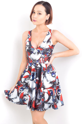 Kawaii Unicorn Happy Hour Dress