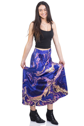 Sea Witch Maxi Skirt