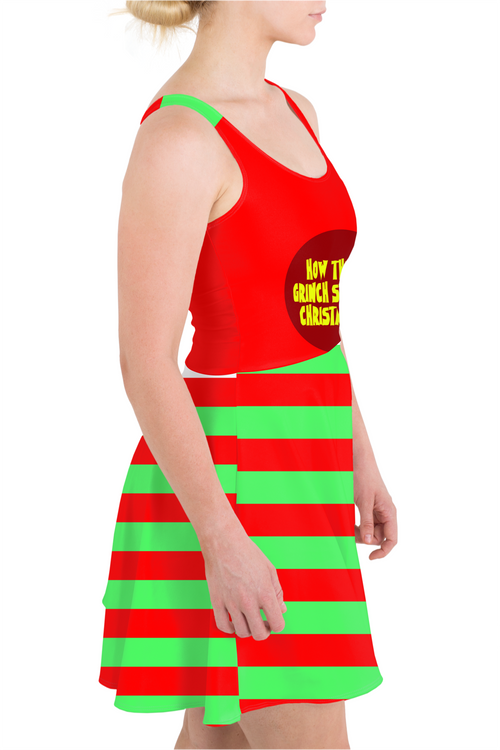 How The Grinch Stole Christmas Skater Dress