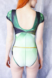 Green Space Heroine Bodysuit