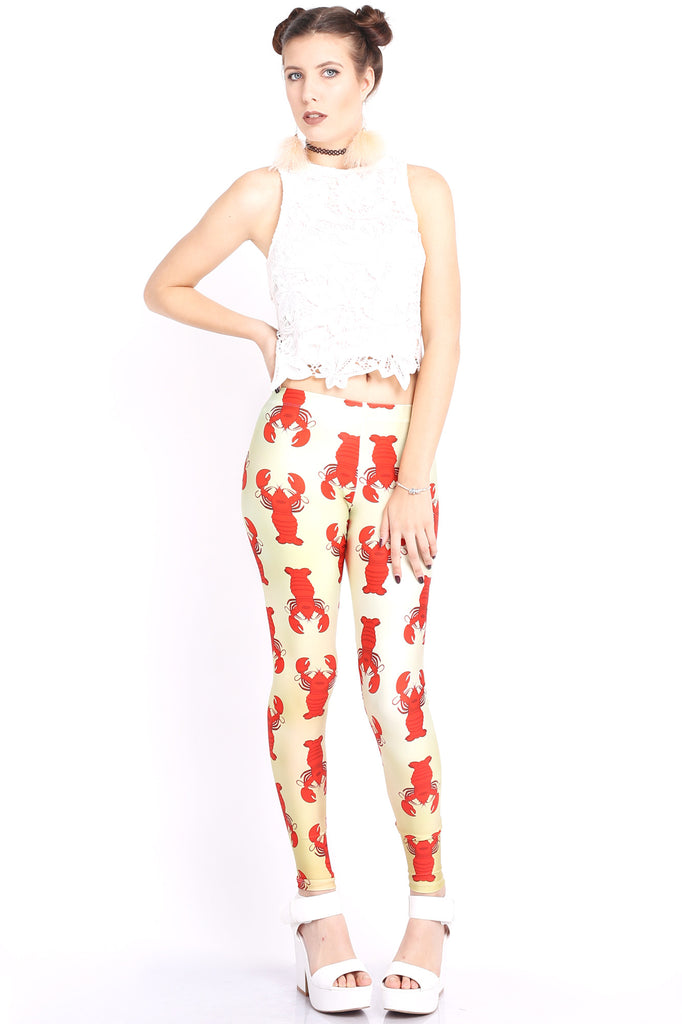 Rock Lobster Leggings