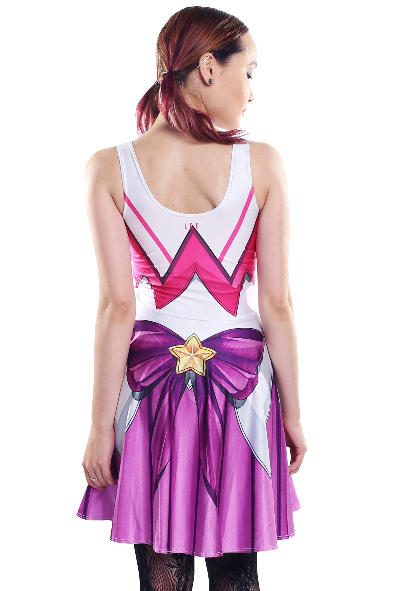 Star Guardian Lux Cosplay Skater Dress