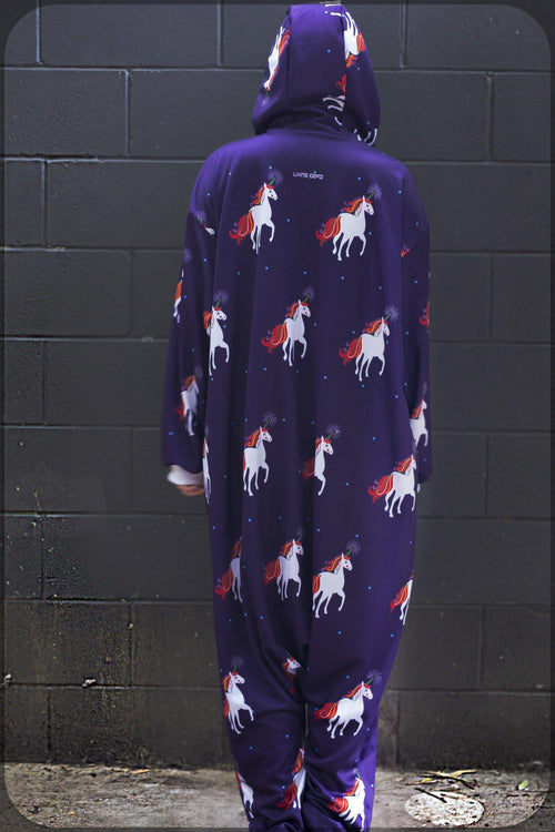 Christmas Unicorn Onesie