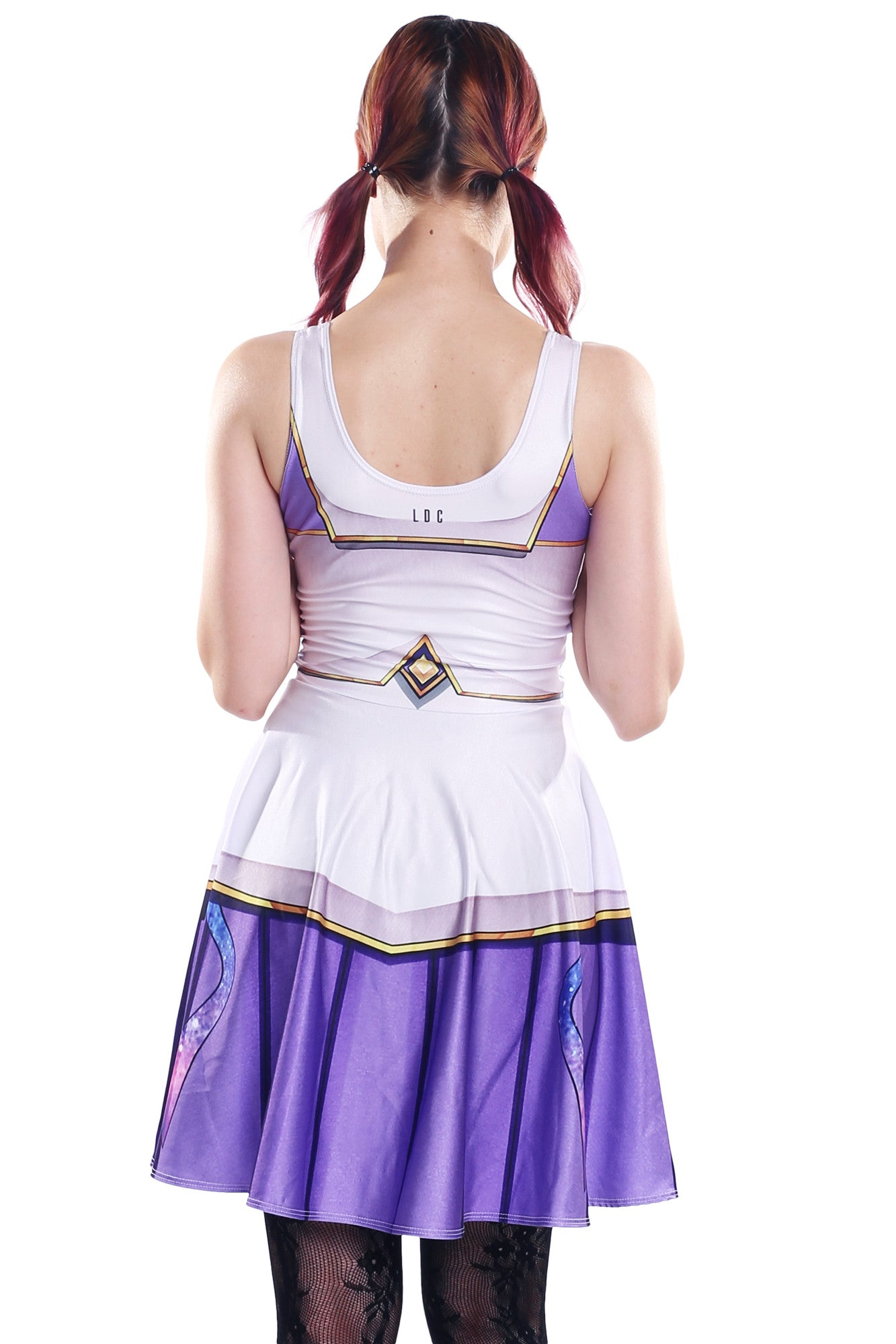 Star Guardian Janna Cosplay Skater Dress