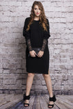 Shadow Knit Dress - LIMITED