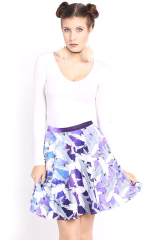 Are You Ready For This Jelly Skater Skirt