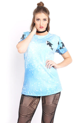 Otterly Adorable Tee Crop