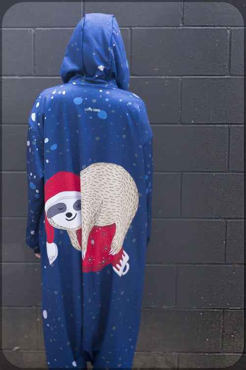 Christmas Sloth Onesie