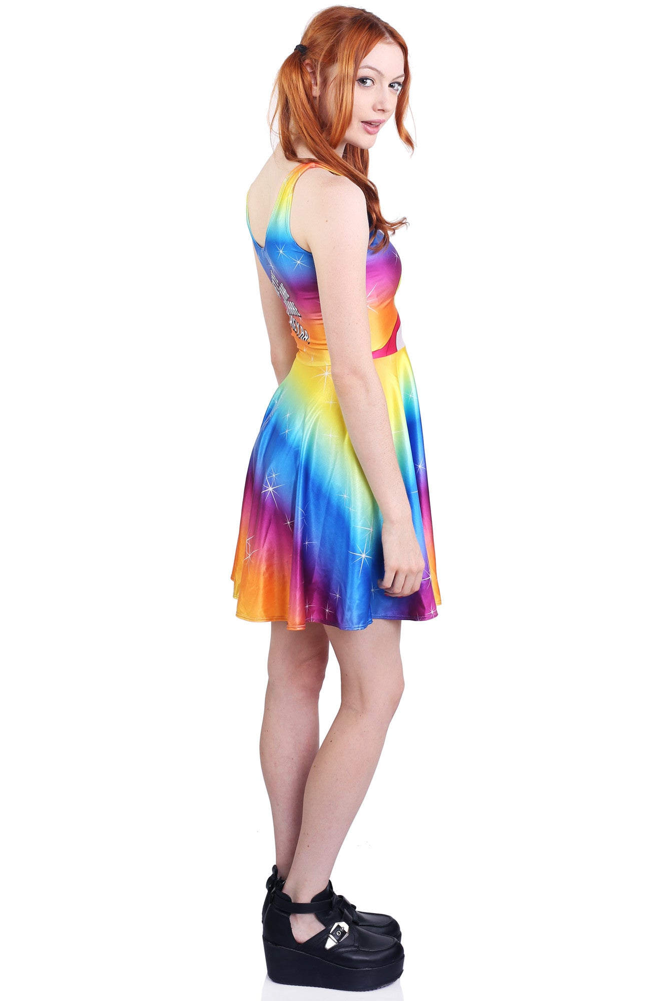 What's Going On Skater Dress