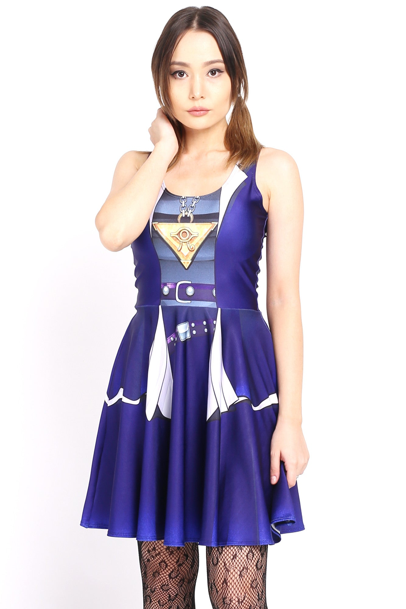 Yugi Cosplay Skater Dress