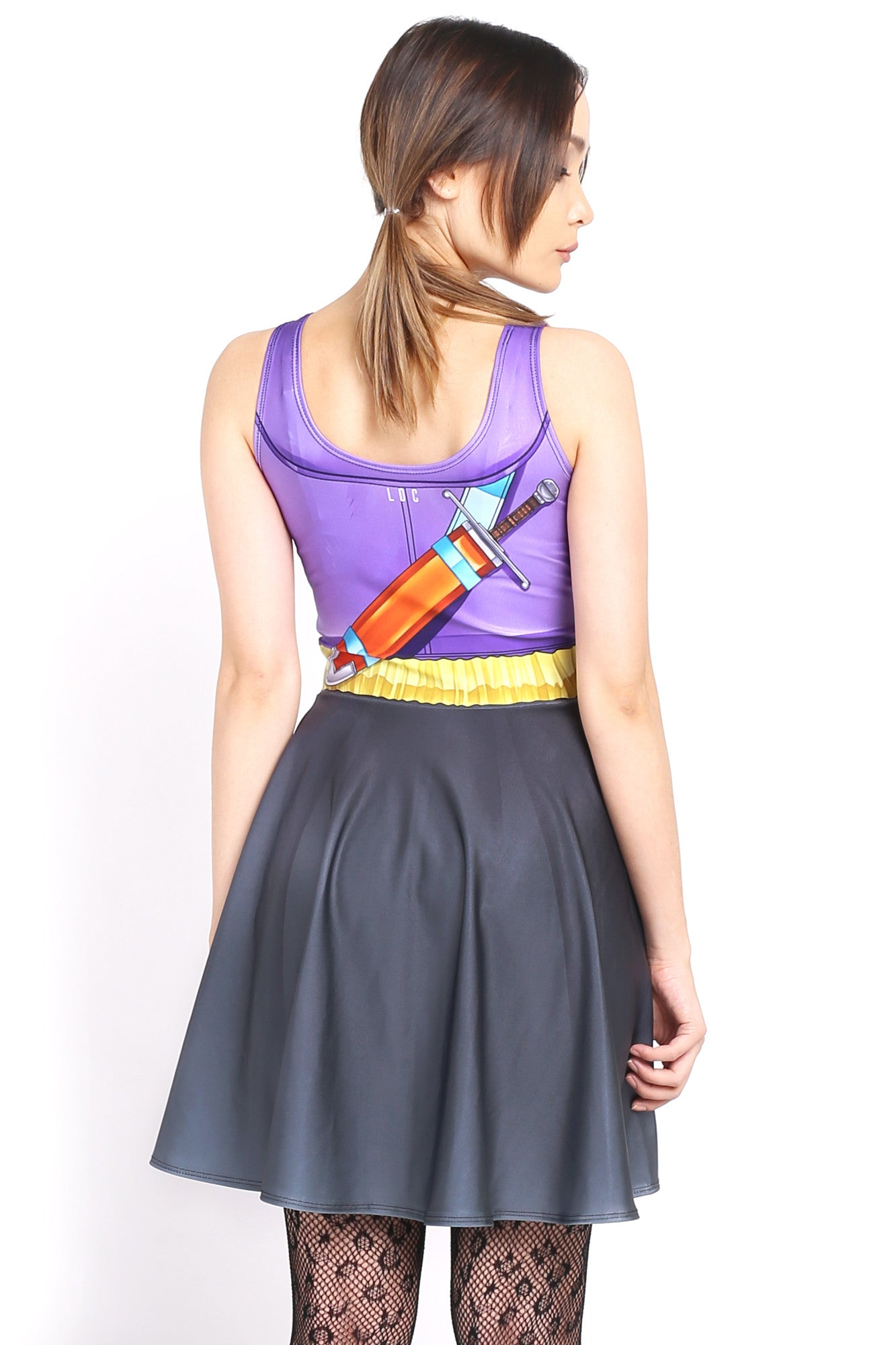 Trunks Cosplay Skater Dress