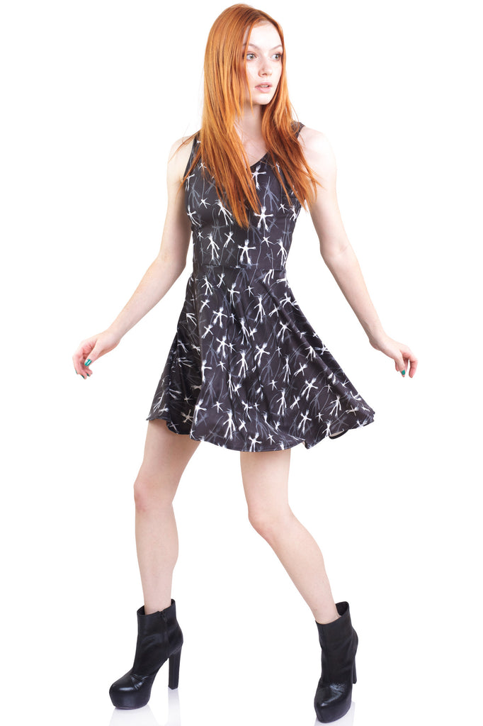 Who's Out There Skater Dress