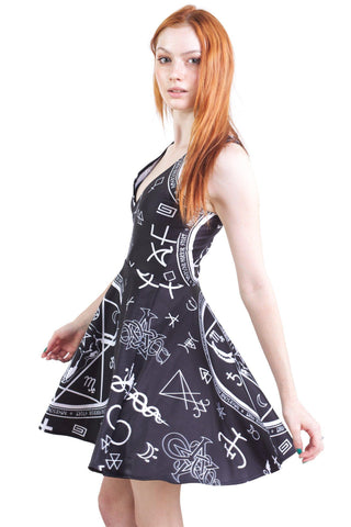 Bun Of Darkness A Line Dress