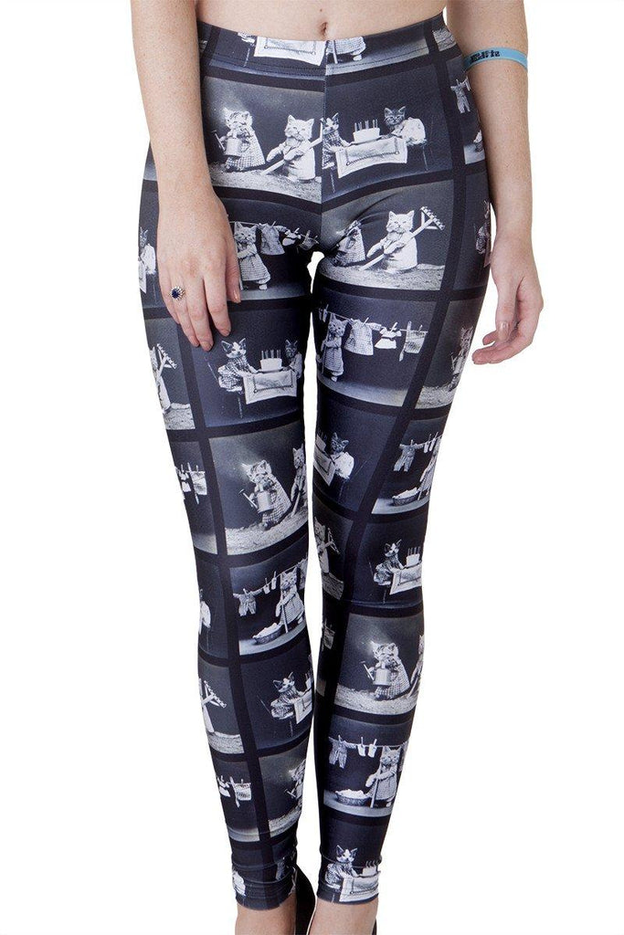 Domestic Cat Leggings