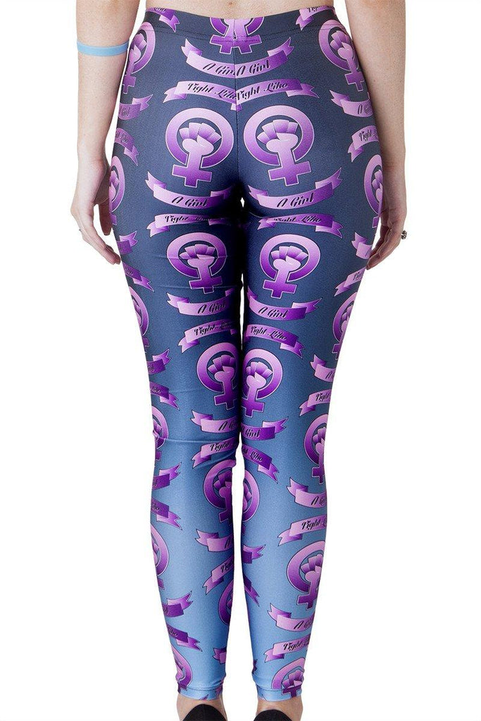 Fight Like a Girl Leggings