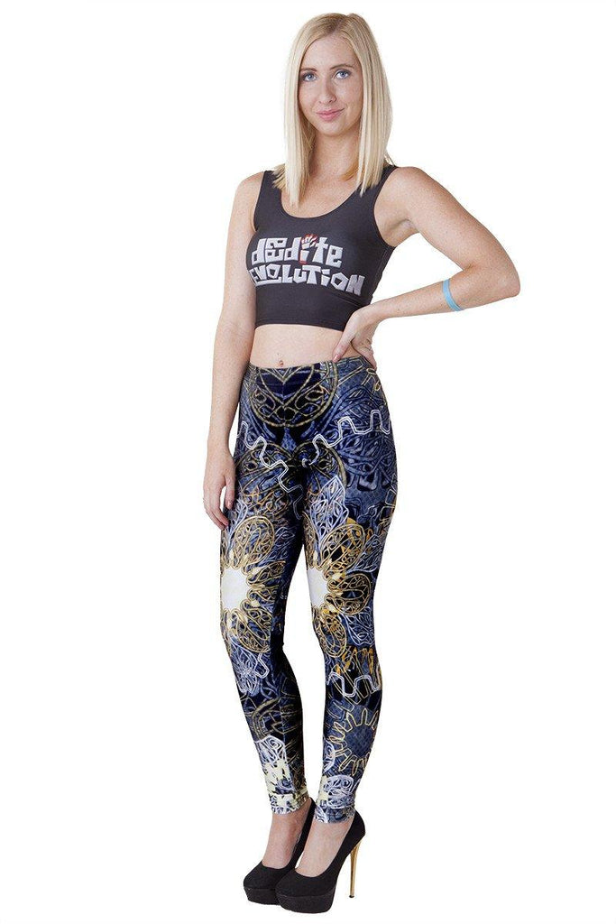 Gaslamp Fantasy Leggings - LIMITED