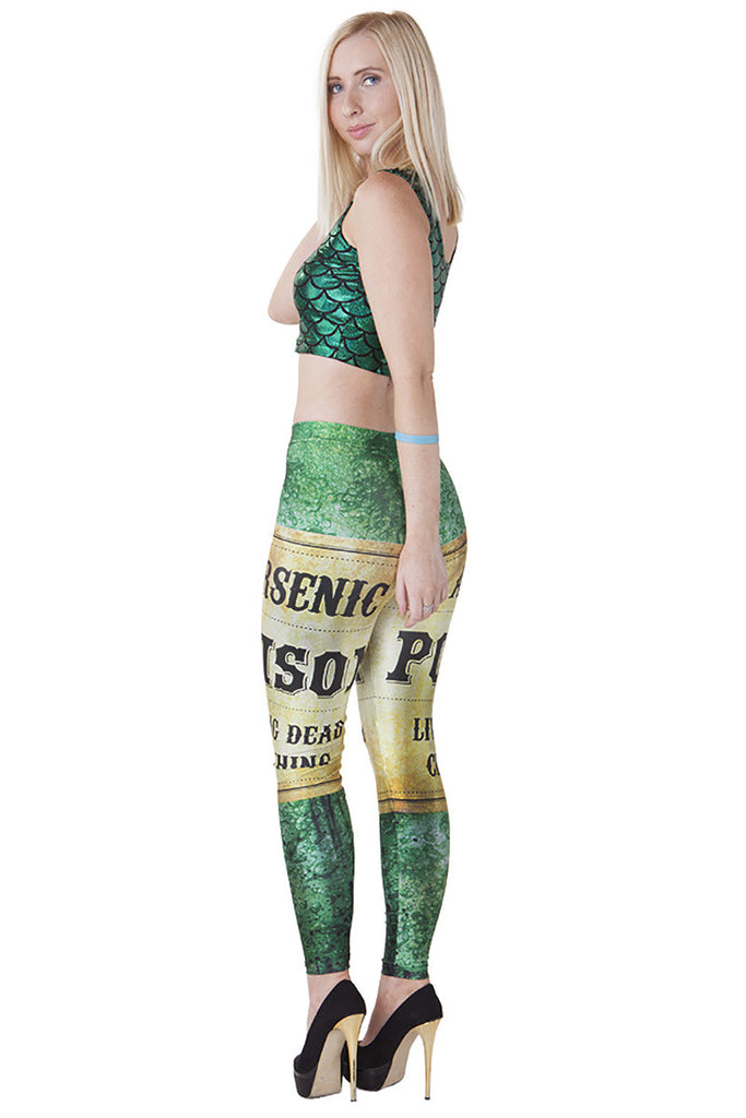 Poison Bottle Leggings - LIMITED