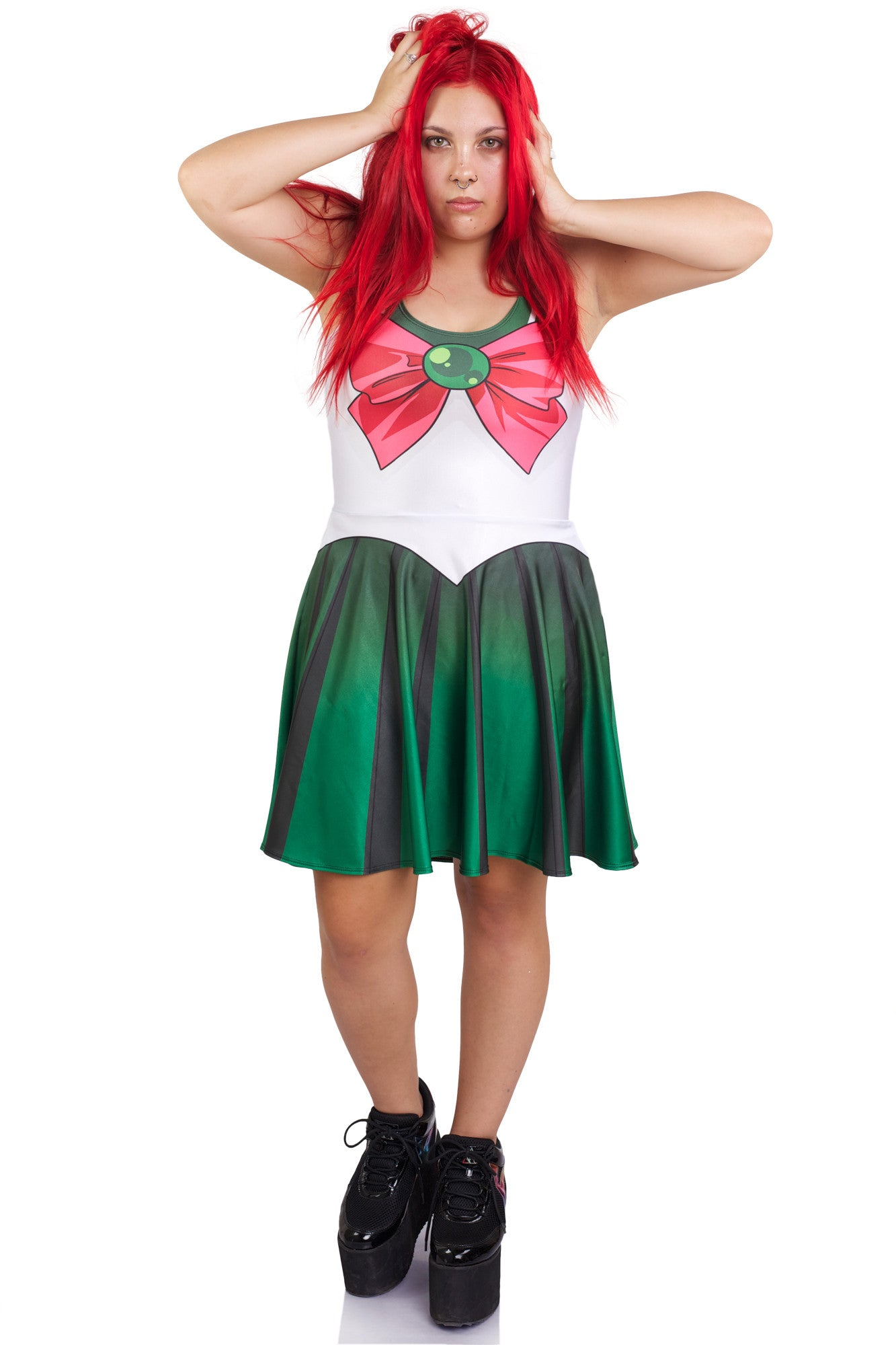 Sailor Jupiter Skater Dress