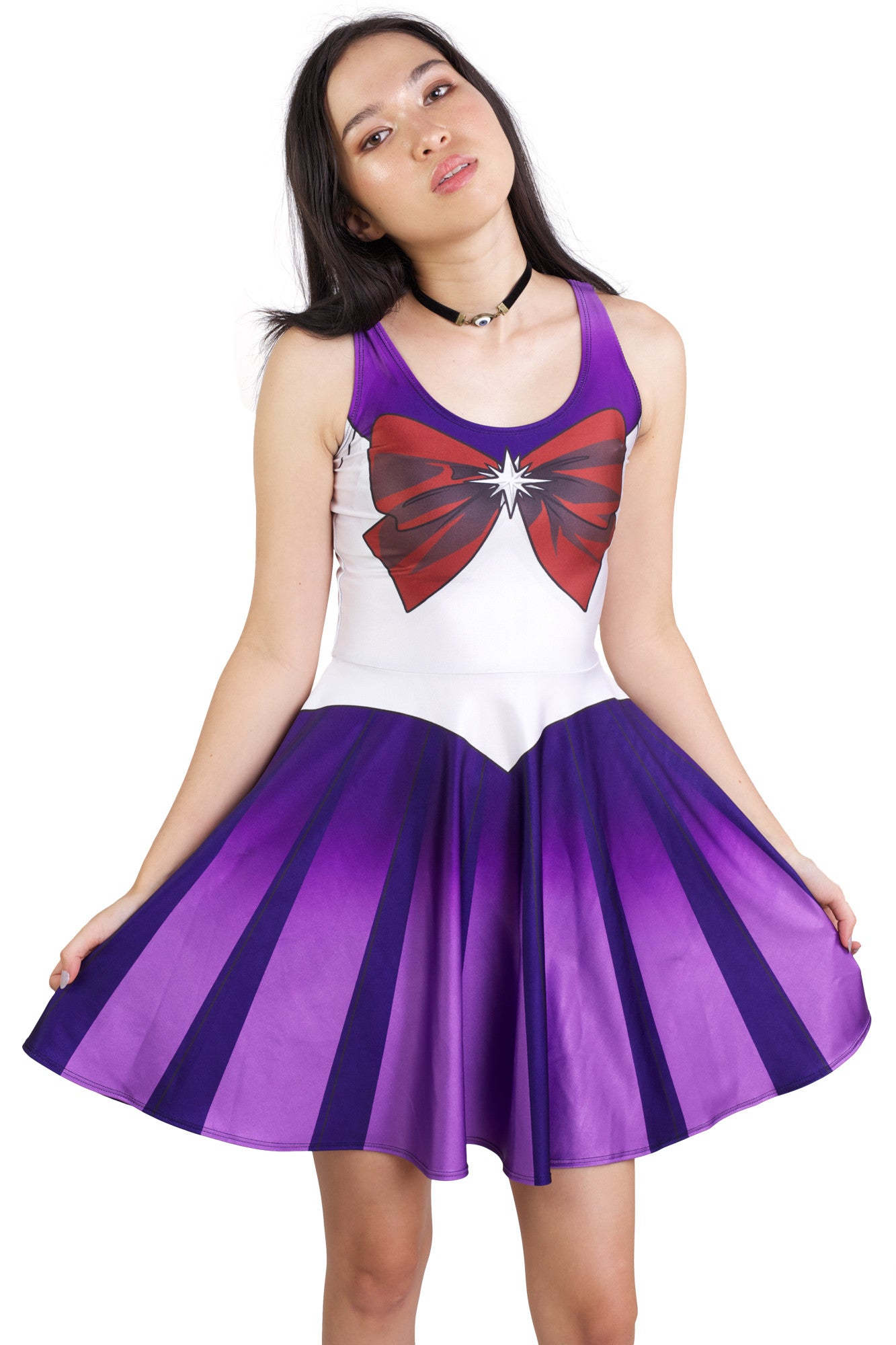 Sailor Saturn Skater Dress
