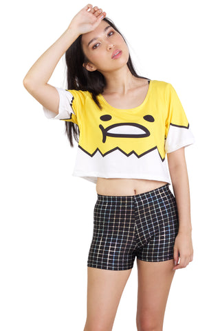 Pixel Roar Tee Crop