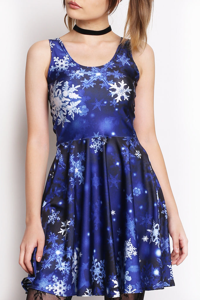 Ice Queen Skater Dress