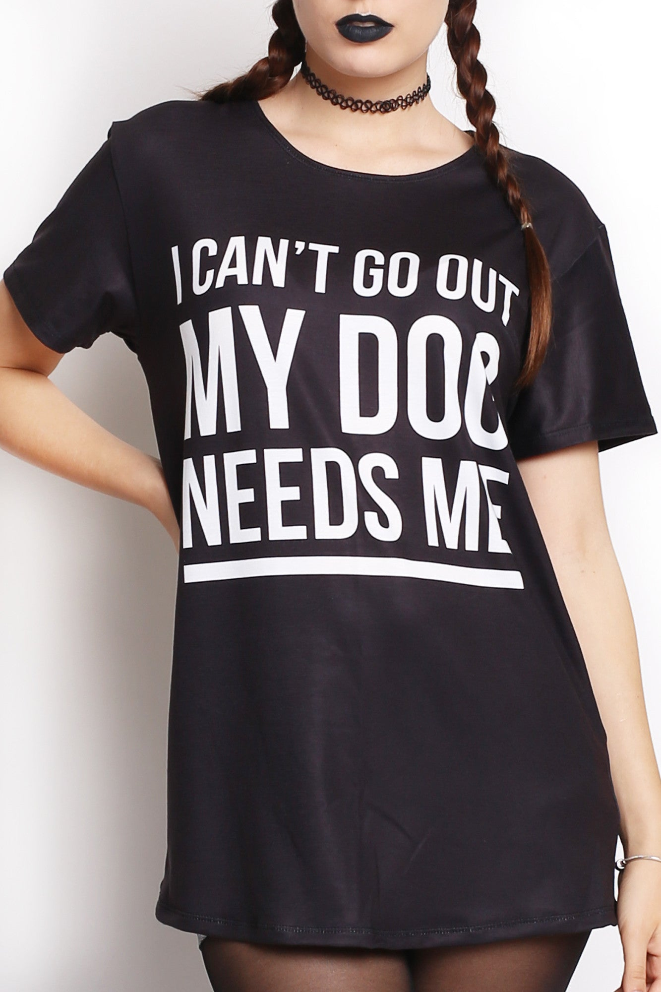 My Dog Needs Me Tee