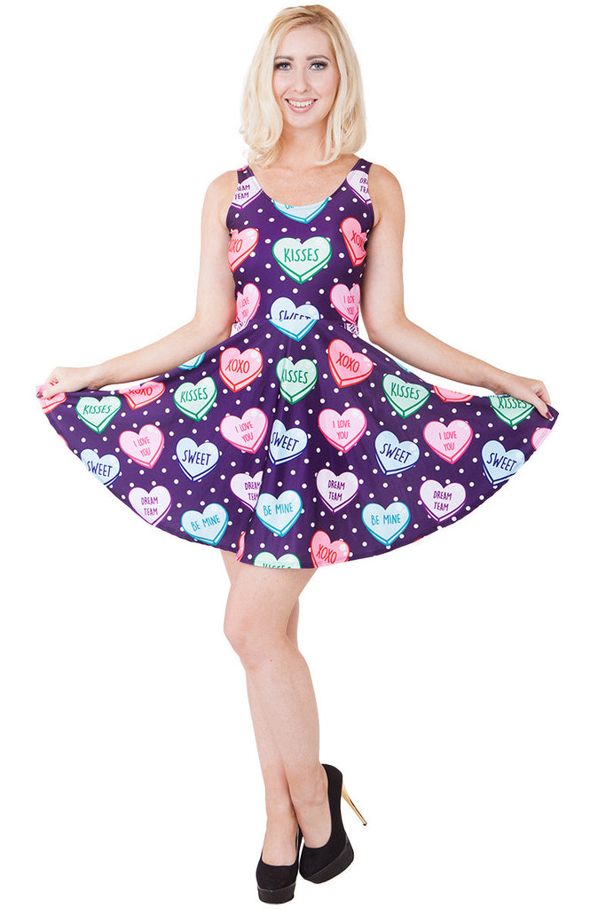 Sweet Candy Heart Pocket Skater