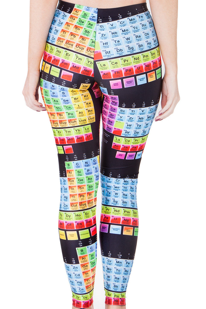 Periodic Table Leggings