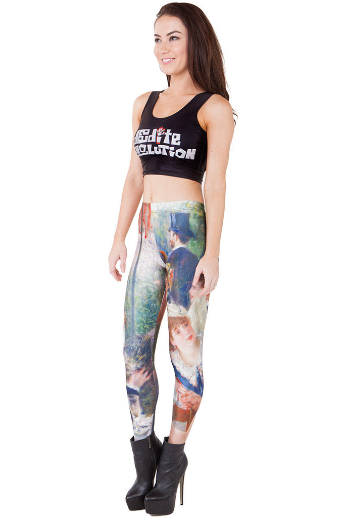 Luncheon of the Boating Party Leggings