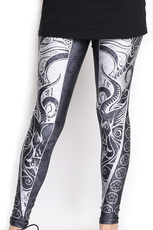 Pentagram Leggings