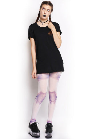 Skeletal Tights