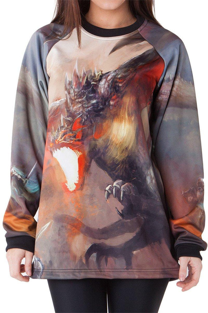 Dragon Wrath Sweater - LIMITED